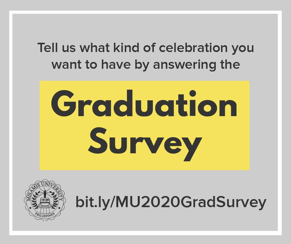 2020 Graduation Survey