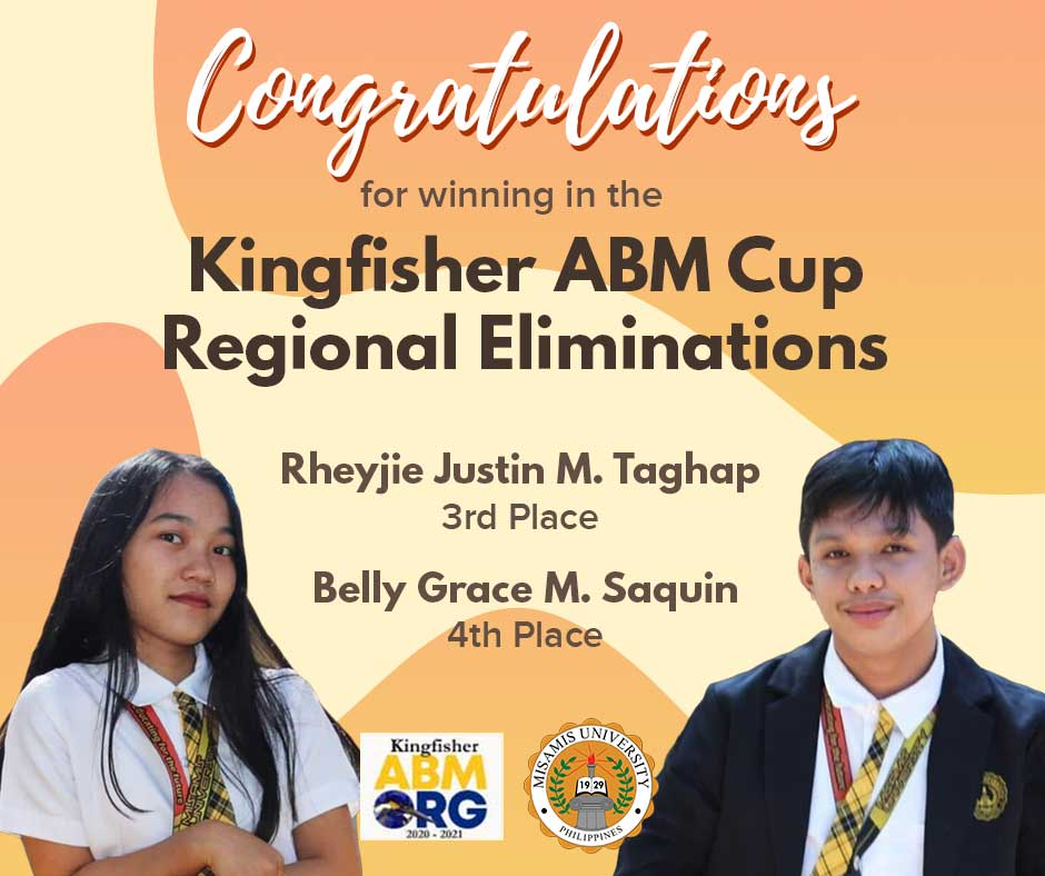 MU ABM Students Place 3rd and 4th in 2021 Kingfisher ABM Cup