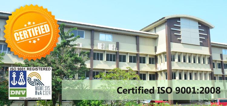 DNV Recertified MU for ISO 9001:2008