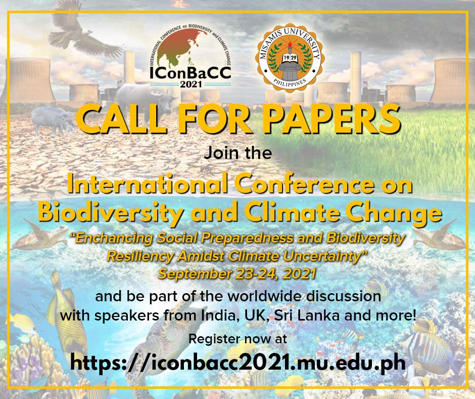 Call for Papers: IConBaCC 2021