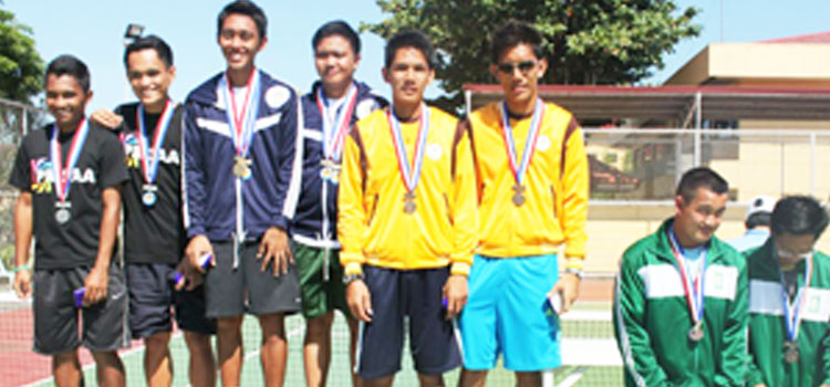 MISAMIS UNIVERSITY MARITIME STUDENTS: PRISAA 2013 Bronze Medalists