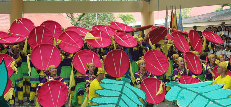 Misamis University, Ozamiz City Celebrates the Philippine International Arts Festival (PIAF) in February 2011.
