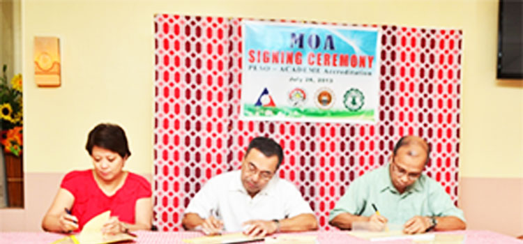 Misamis University Signs MOA with DOLE for School-based PESO
