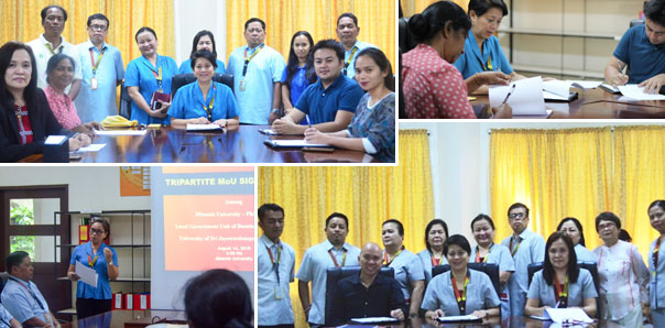 Misamis University Signs MOU with Foreign Universities and LGU