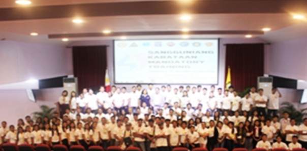Misamis University hosted the Sangguniang Kabataan Mandatory Training (SKMT)