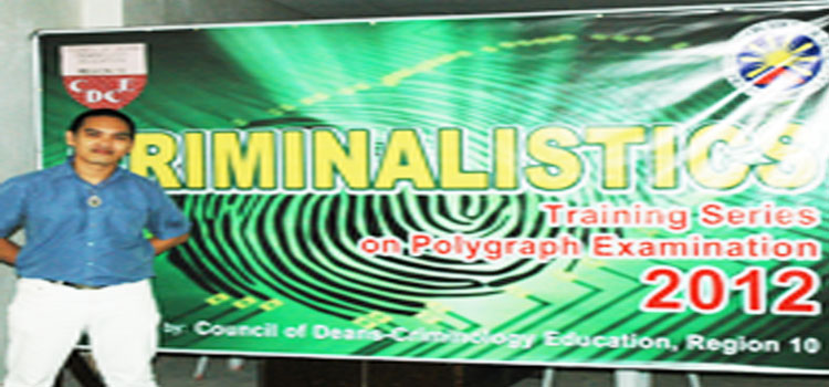 Misamis University hosted the province-wide SEMINAR-WORKSHOP ON POLYGRAPHY EXAMINATION and LIE DETECTION.