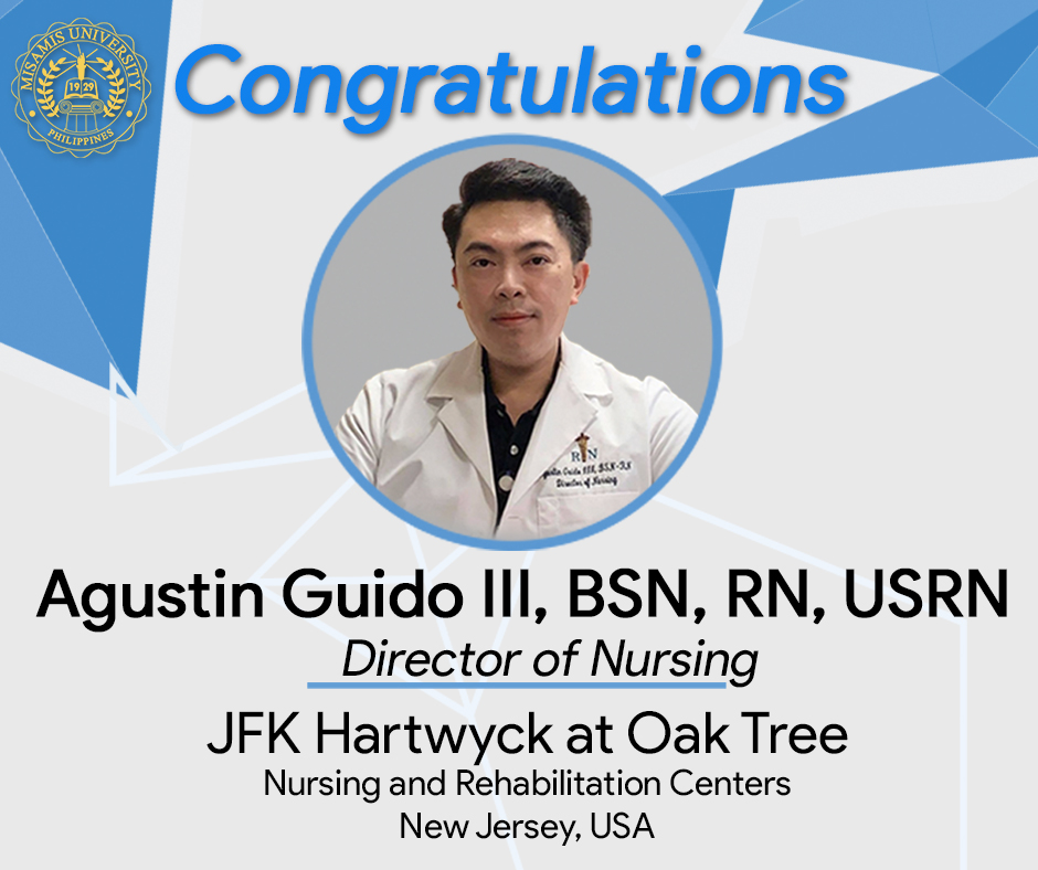 Alumnus from Batch 1995 Becomes Director of Nursing at New Jersey, USA