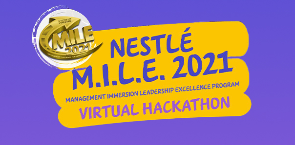 Nestle's MILE 2021 looking for 3rd and 4th year interns