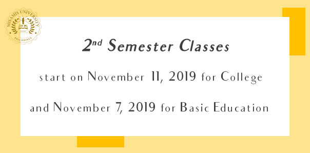 2nd Semester Classes