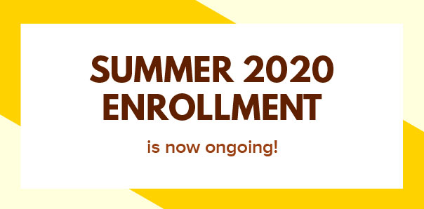 SUMMER 2020 ENROLLMENT
