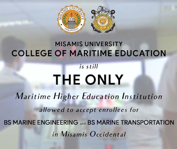 The Only Maritime HEI in the Province