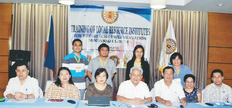 Training of Local Resource Institutes for the 2015 Citizen Satisfaction Index System (CSIS) Fieldwork Implementation