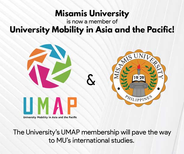 Misamis University is now a member of University Mobility in Asia and the Pacific