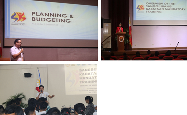 Misamis University hosted the Sangguniang Kabataan Mandatory Training