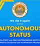 MU is Granted Autonomous Status Again