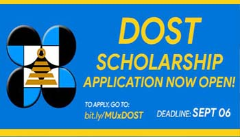 DOST Scholarship Applications Now Open