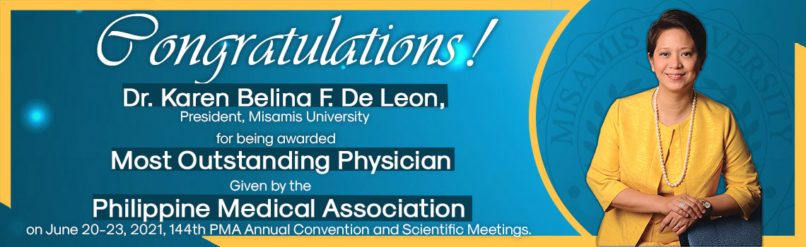 Dr. Karen was recognized for her significant contributions to the Philippine Medical Association