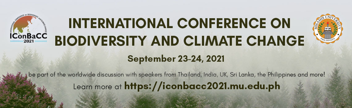 Iconbacc2021 | 2nd International Conference on Biodiversity and Climate Change 2021