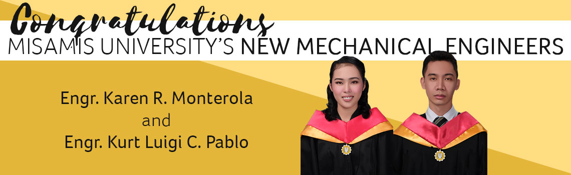 misamis university Mechanical Engineering Board Passers February 2020
