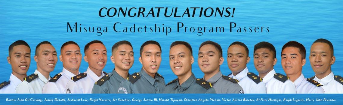 2019 Miguga Cadetship Program Passers