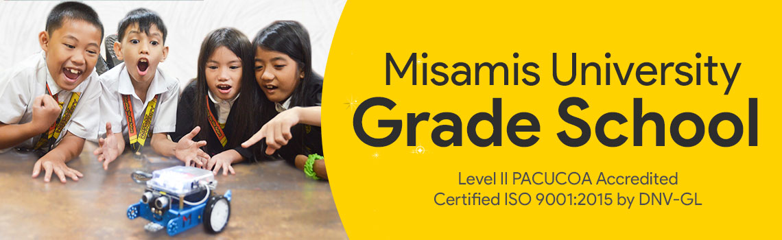 misamis university grade school banner 2020
