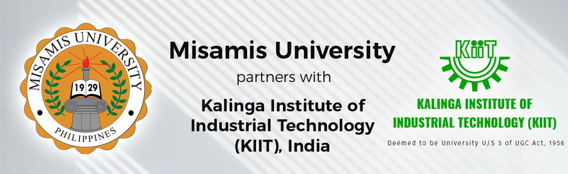 Misamis University partners with Kalinga Institute of Industrial Technology (KIIT), India