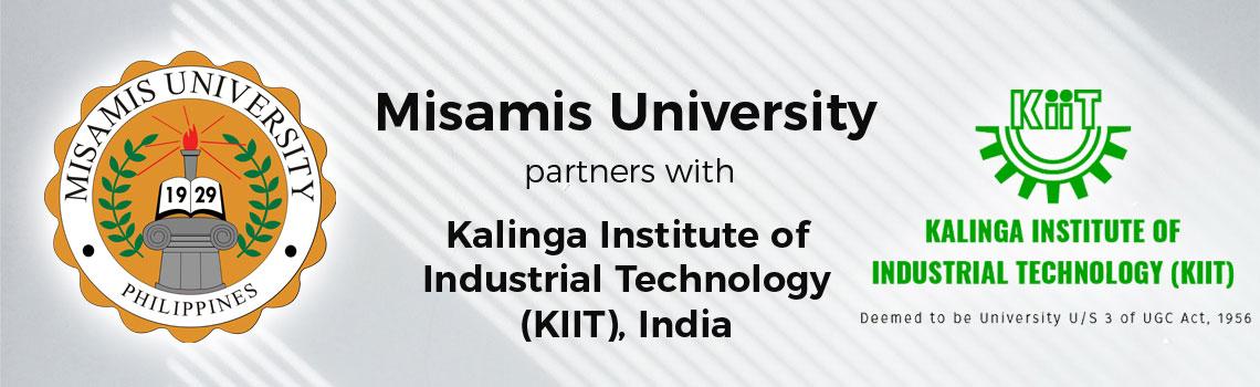Misamis University partners with Kalinga Institute of Industrial Technology (KIIT), India